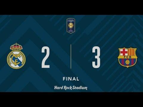ESPN fernando palomo clasico en miami Real Madrid 2 – Barcelona 3
