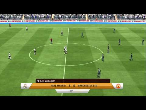 FIFA 13 – Real Madrid vs Manchester United – FULL GAME!