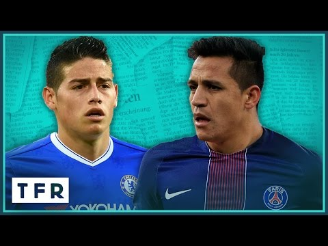 Top 10 Transfer Rumours | Feat. Real Madrid, Arsenal, Liverpool!