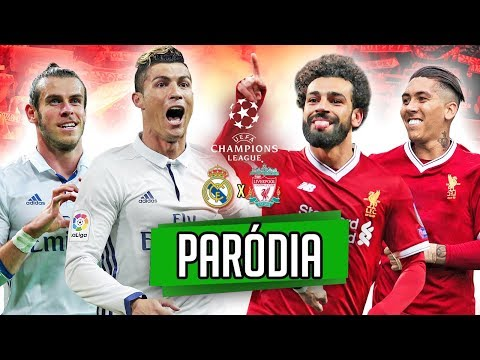 ♫ REAL MADRID vs LIVERPOOL FINAL DA CHAMPIONS LEAGUE – SALAH vs CR7 | Paródia ‹ RALPH +10 ›