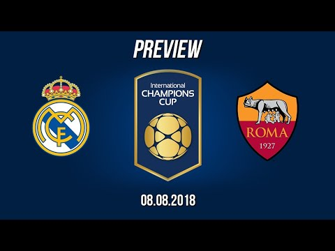Real Madrid vs Roma 2-1 Match Preview 08/08/2018 | HD
