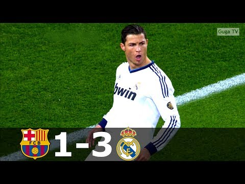 Barcelona vs Real Madrid 1-3 – Copa Del Rey 2012/2013 1/2 Final – Highlights