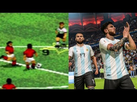 Evolution Of Fifa Games 1994 – 2018
