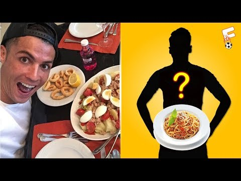 Top 20 Footballers And Their Favourite Foods ⚽ Can You Guess Them All ? Footchampion
