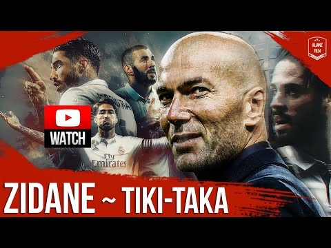 Real Madrid x Zidane ● Tiki-Taka – Best Combinations 2017 | HD
