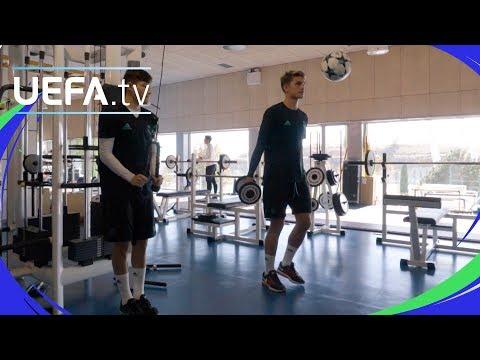 UEFA Youth League skills challenge: Real Madrid