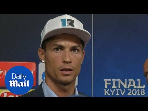 Ronaldo drops hint of leaving Real Madrid after final triumph