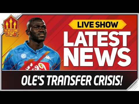 Forget Koulibaly & Sancho Transfers! Man Utd News Now