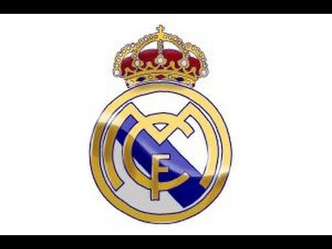 How to draw Real Madrid Logo