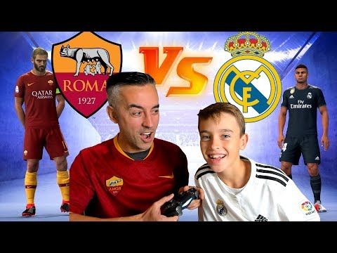 ROMA VS MADRID UEFA CHAMPIONS LEAGUE – FIFA 19