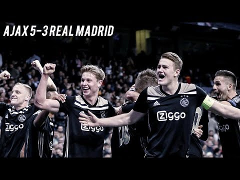 AJAX v REAL MADRID – The Fall Of The Kings | 5-3 Cinematic Highlights ❌❌❌