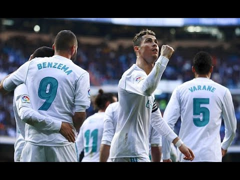 Real Madrid 4-0 Alaves: The BBC all get their names on the scoresheet