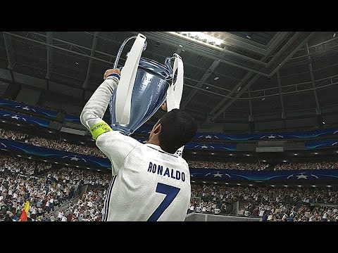 PES 2017 – UEFA Champions League Final – REAL MADRID vs BARCELONA (Penalty Shootout)