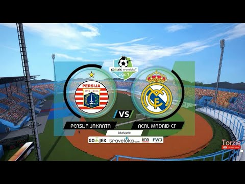 PERSIJA VS REAL MADRID – WORLD TOUR – PES 2017