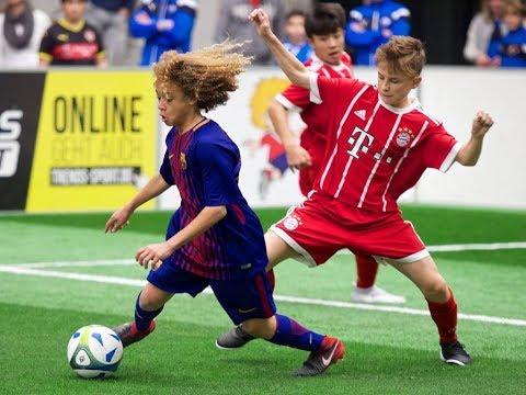 Europas beste U15-Fußballer – MTU-Cup 2017 | FC Barcelona, ManUnited, FC Bayern, AC Milan, Ajax..