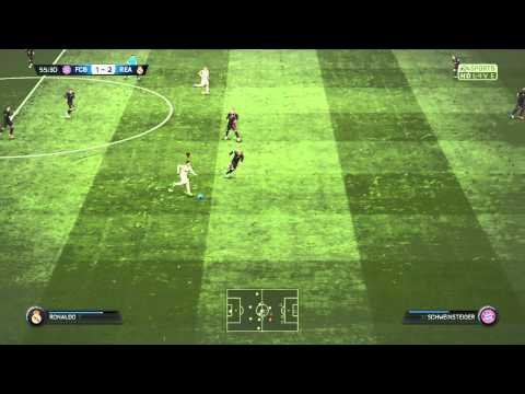 Ronaldo = unstoppable | Fifa 15 | Real Madrid vs Bayern Munich | By Giuseppe
