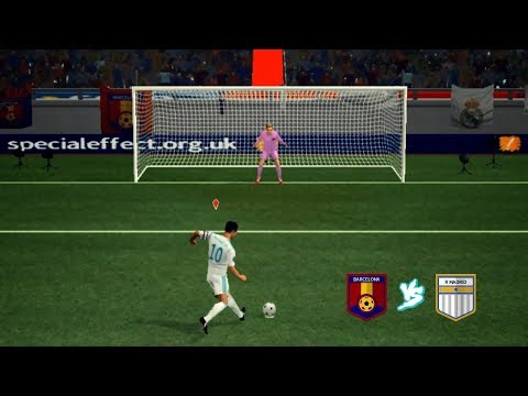 Barcelona vs Real Madrid 💗 Penalties 💗 Dream League Soccer 2018 HD