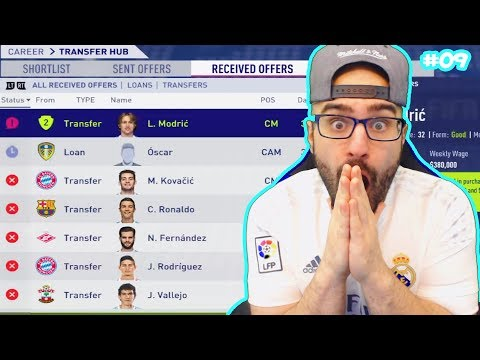 WTF MASSIVE PLAYER SOLD!! $90,000,000 – FIFA 18 Career Mode Real Madrid #09