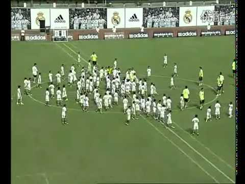 Real Madrid plays against team of 109 Chinese kids in Guangzhou