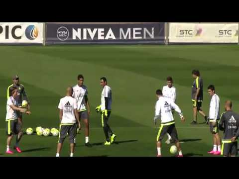 incredible Control Pass of Cristiano Ronaldo at Real Madrid Training l 2015