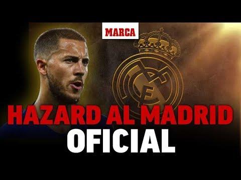 Oficial: Eden Hazard ficha por el Real Madrid | Fichajes Real Madrid 2019 – Marca