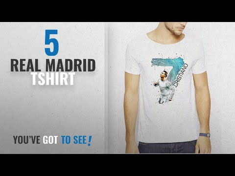 Top 10 Real Madrid Tshirt [2018]: 642 Stitches Cristiano Ronaldo CR7 – Real Madrid Jersey Goal