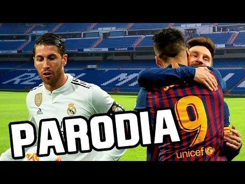 Canción Real Madrid vs Barcelona 0-3 (Parodia Ozuna – BAILA BAILA BAILA)