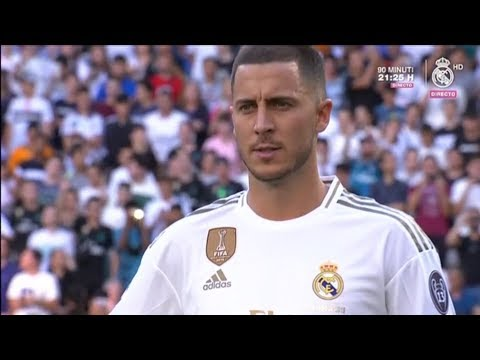 🔴 LIVE: Eden Hazard's Real Madrid C.F. presentation! New Real Madrid Player at Estadio Santiago