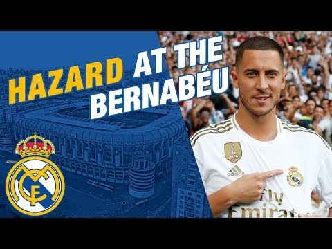 LIVE | Eden Hazard takes to the Bernabéu pitch!