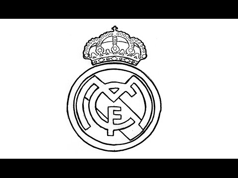 How to Draw the Real Madrid Logo (CF)