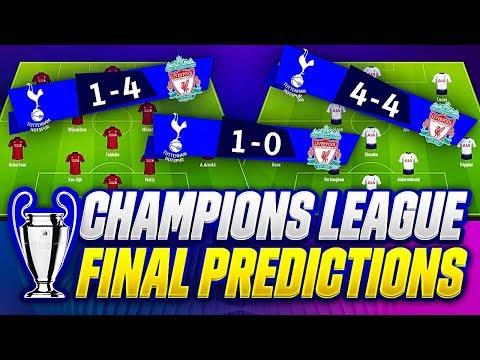 TOTTENHAM vs LIVERPOOL 0-2 GOALS FINAL | 🏆UEFA CHAMPIONS LEAGUE 2018/19🏆| LINE-UP & GOALS