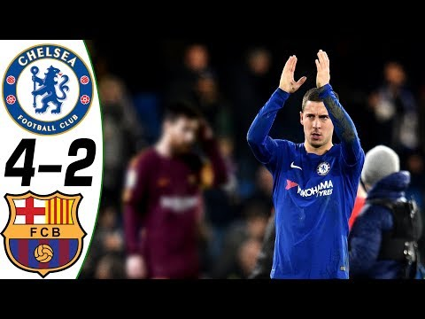 Chelsea vs Barcelona 4-2 – All Goals & Highlights Résumé & Goles (Last Match) HD