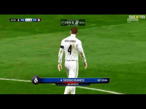 FIFA 15 Beta | Gameplay | Real Madrid vs Bayern Munich