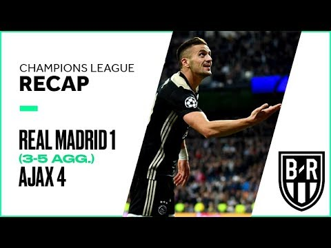 Real Madrid 1-4 Ajax (3-5 agg.): Champions League Recap with Highlights, Goals and Best Moments