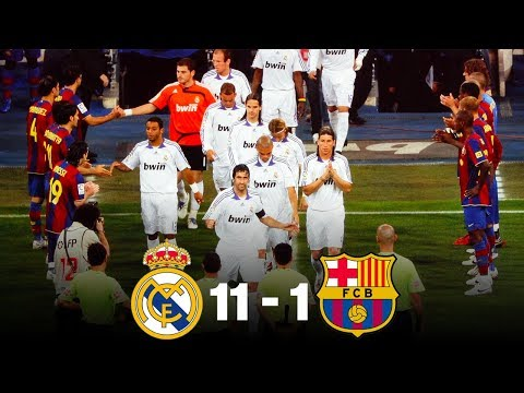 The day Real Madrid beat Barcelona 11-1 – Oh My Goal