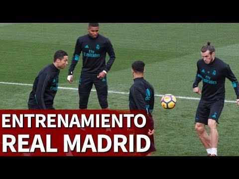Entrenamiento completo del Real Madrid previo a Las Palmas | Diario AS