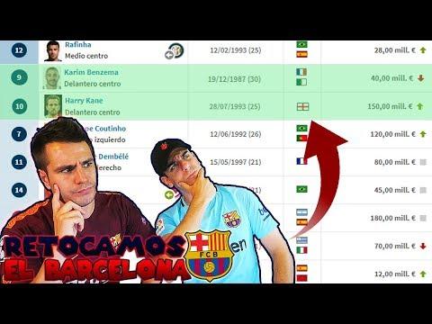 Así sería el BARCELONA 2018/2019 en la VIDA REAL siendo MÁNAGERS del CLUB (Con Robert PG)
