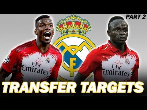10 Real Madrid Transfer Summer Targets 2019 Part 2