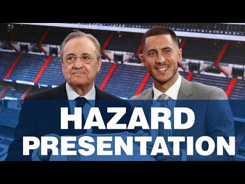 LIVE | Eden Hazard's Real Madrid presentation