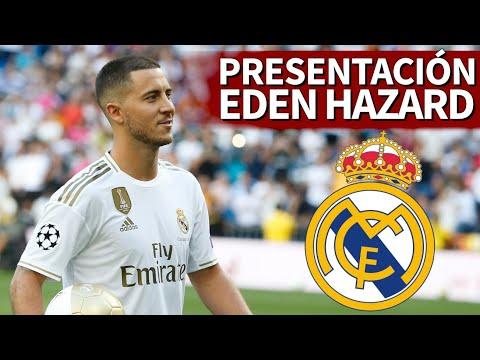 PRESENTACIÓN de HAZARD con el REAL MADRID | Diario AS