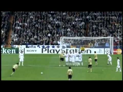 Alessandro Del Piero: Real Madrid – Juventus 5-11-2008 Standing Ovation at Bernabeu