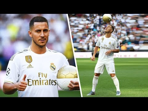 Eden Hazard Official Presentation Real Madrid 13/06/2019
