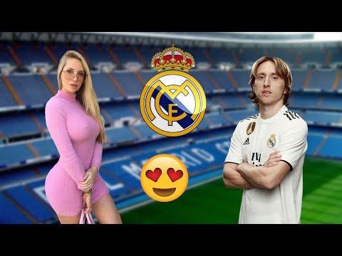 Namoradas dos Jogadores do REAL MADRID 2018!