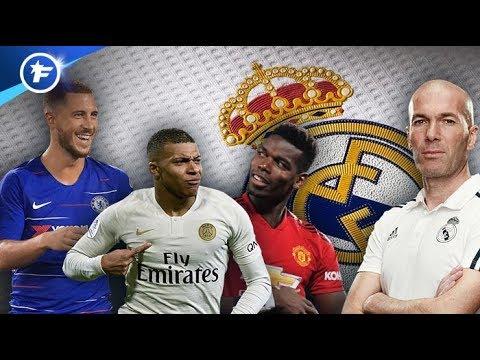 Les pistes de Zinedine Zidane pour le mercato d'été du Real Madrid