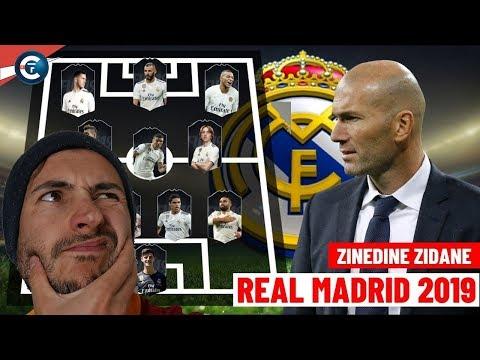 LES NOUVELLES RECRUES DU REAL MADRID DE ZIDANE 2019/2020