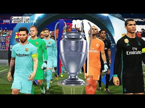 PES 2018 | UEFA Champions League Final | Real Madrid vs Barcelona | Penalty Shootout | Gameplay PC