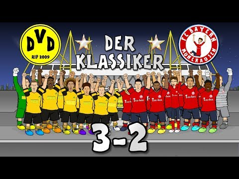 🌟DER KLASSIKER! 3-2🌟 Borussia Dortmund vs Bayern Munich (Goals Highlights 2018)