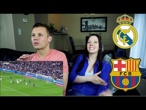 El Clasico – Highlights Real Madrid vs Barcelona REACTION!!!