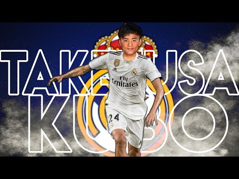 TAKEFUSA KUBO • The New Wonderkid of Real Madrid • Young Talents Ep 58 • 2019ᴴᴰ