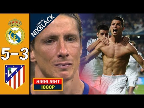 Real Madrid 5-3 Atletico Madrid 2016 CL Final All goals & Highlights FHD/1080P